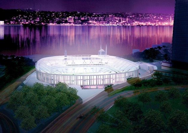 Mimar Bünyamin Derman gözüyle Şeffaf stadyum