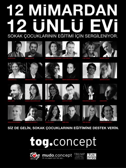 Tog Concept: Tek çatı altında 12 ev, 12 karakter