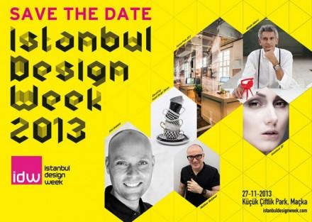 İstanbul Design Week (IDW) başlıyor! 27 Kasım-1 Aralık