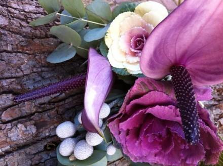 Hana Flower'da kış aranjmanları atölyesi
