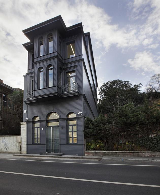 Tarihi binanın ikonik dönüşümü