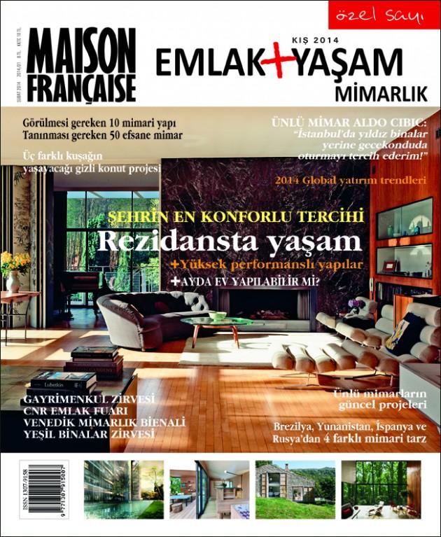 Maison Française Emlak Yaşam ve Mimarlık özel sayısı