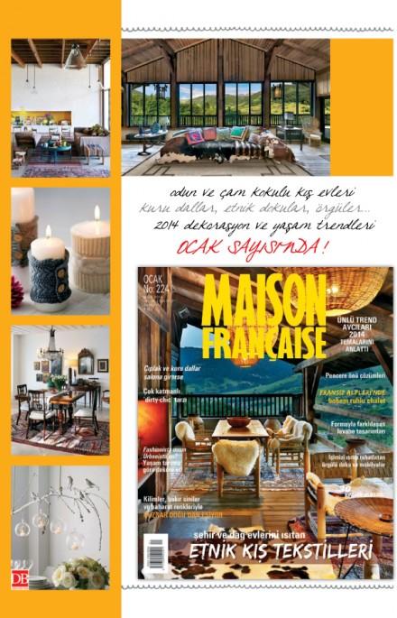 Maison Française Ocak sayısında…