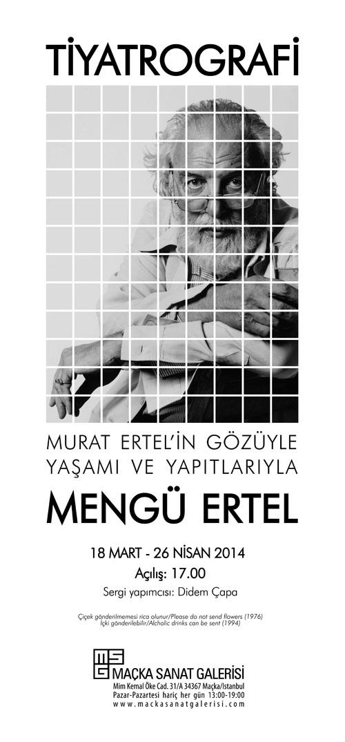 Maçka Sanat Galerisi: Tiyatrografi- Mengü Ertel