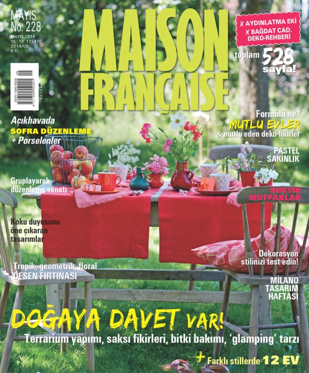 Maison Française Mayıs sayısı ÇIKTI!