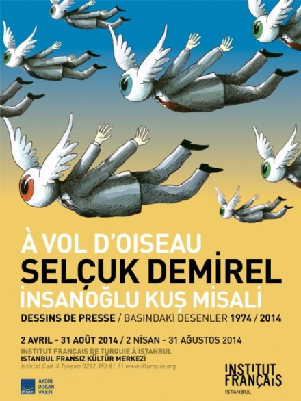 İstanbul Fransız Kültür Merkezi: İnsanoğlu Kuş Misali- Selçuk Demirel