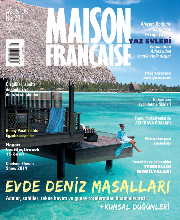 Maison Française Ağustos sayısı ÇIKTI!