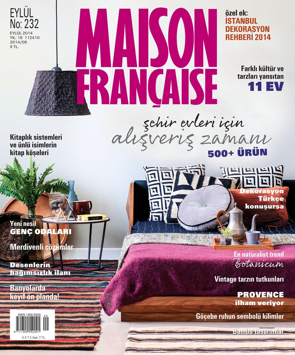 Maison Française Eylül sayısı ÇIKTI!