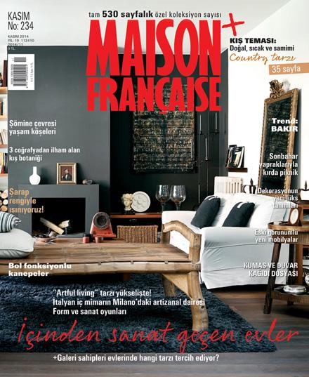 Maison Française Kasım sayısı ÇIKTI!