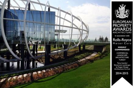 'Satış Ofisi ve Peyzaj Düzenlemesi' ile Tema İSTANBUL'a ödül