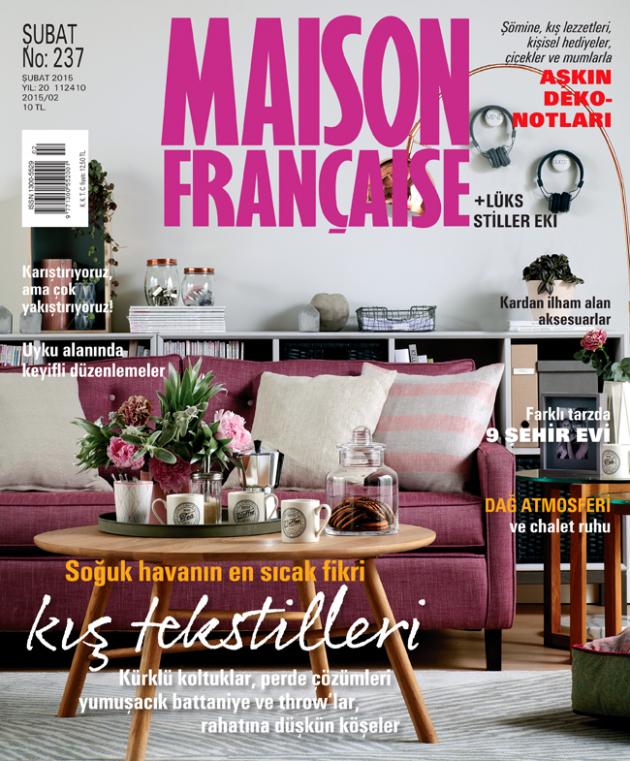 Maison Française Şubat sayısı çıktı!