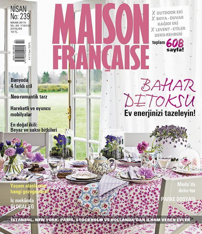 Maison Française Nisan sayısı ÇIKTI!