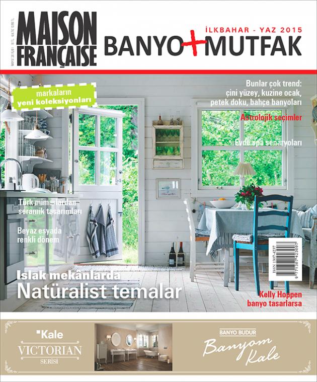 Maison Française Banyo + Mutfak Özel Sayısı bayilerde