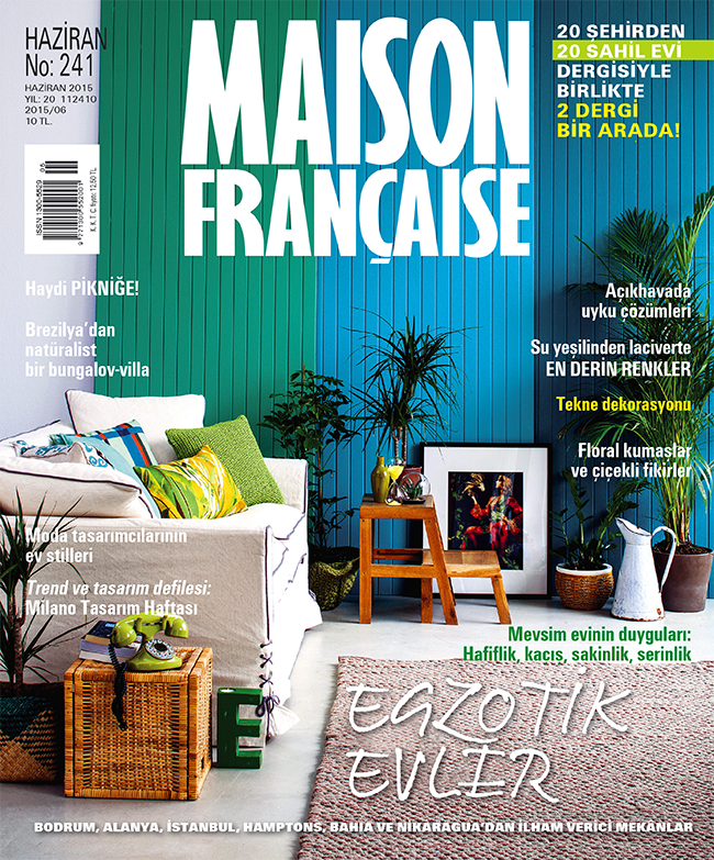 Maison Française Haziran sayısı ÇIKTI!