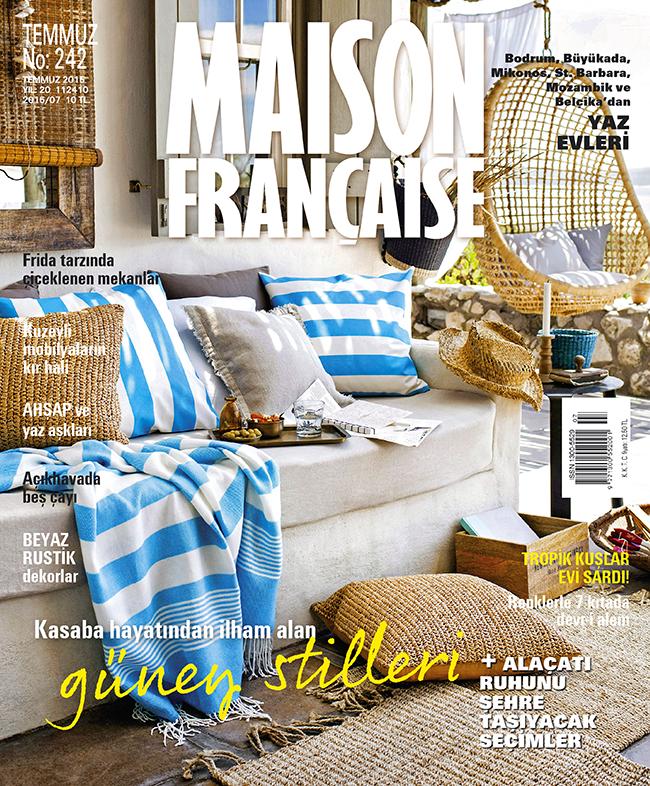 Maison Française Temmuz sayısı ÇIKTI!
