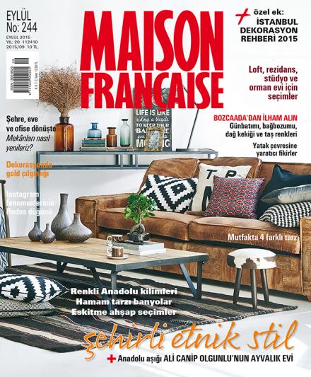 Maison Française Eylül sayısı bayilerde!