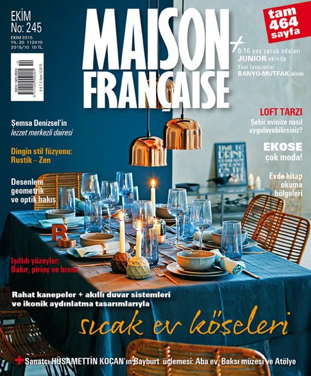 Maison Française Ekim sayısı ÇIKTI!