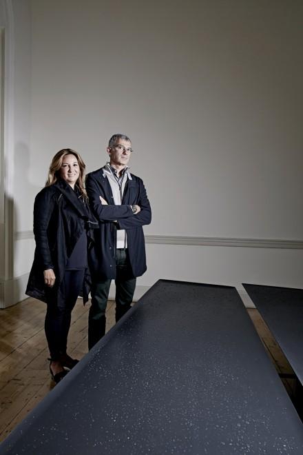 Tabanlıoğlu Mimarlık, London Design Festival 2015'de Arik Levy ortak çalışması ile Somerset House'da yerini aldı
