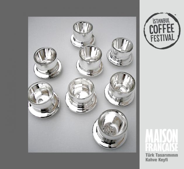 ISTANBUL COFFEE FESTIVAL/ MAISON FRANÇAISE TÜRK TASARIMININ KAHVE KEYFİ SERGİSİ: ALİ BAKOVA