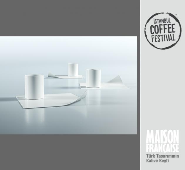 ISTANBUL COFFEE FESTIVAL/ MAISON FRANÇAISE TÜRK TASARIMININ KAHVE KEYFİ SERGİSİ: AYKUT EROL