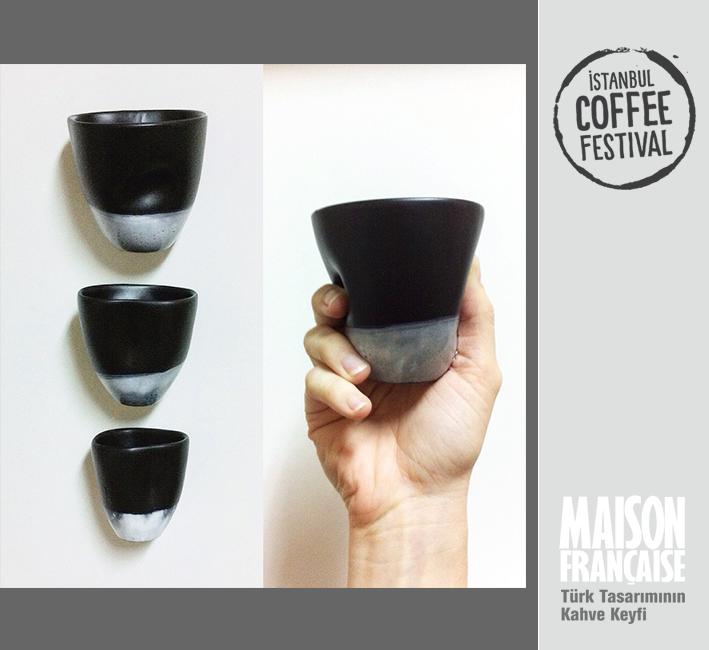 ISTANBUL COFFEE FESTIVAL/ MAISON FRANÇAISE TÜRK TASARIMININ KAHVE KEYFİ SERGİSİ: AYLİN BİLGİÇ