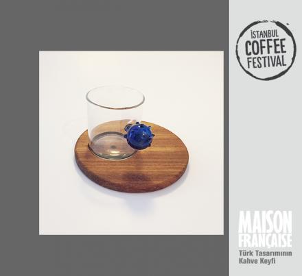 ISTANBUL COFFEE FESTIVAL/ MAISON FRANÇAISE TÜRK TASARIMININ KAHVE KEYFİ SERGİSİ: BERRA ALKAN