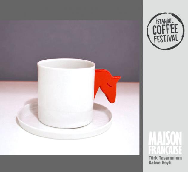 ISTANBUL COFFEE FESTIVAL/ MAISON FRANÇAISE TÜRK TASARIMININ KAHVE KEYFİ SERGİSİ: CEYDA BOZKURT DEMİRCİ
