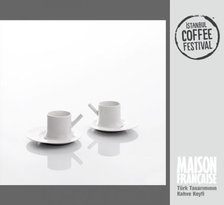 ISTANBUL COFFEE FESTIVAL/ MAISON FRANÇAISE TÜRK TASARIMININ KAHVE KEYFİ SERGİSİ: DEMİR OBUZ