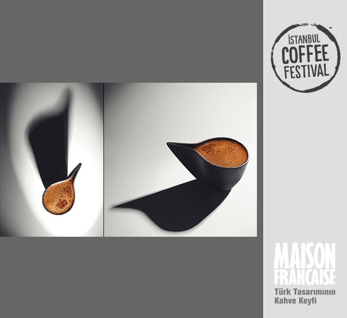 ISTANBUL COFFEE FESTIVAL/ MAISON FRANÇAISE TÜRK TASARIMININ KAHVE KEYFİ SERGİSİ: GÖKHAN ZİNCİR