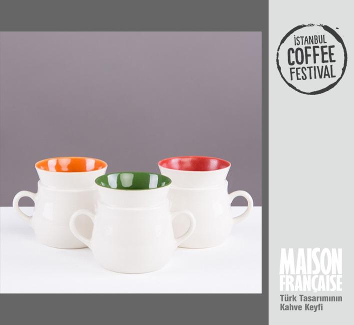ISTANBUL COFFEE FESTIVAL/ MAISON FRANÇAISE TÜRK TASARIMININ KAHVE KEYFİ SERGİSİ: HANDE BİLTEN