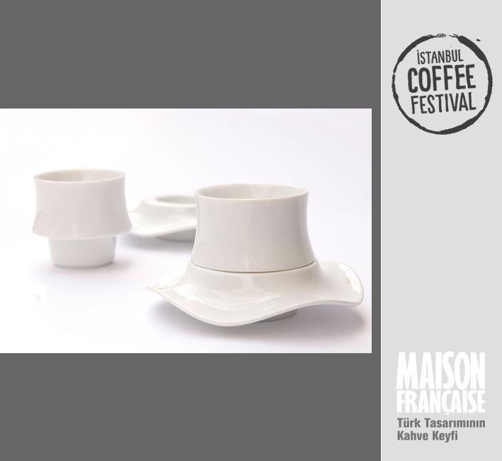 ISTANBUL COFFEE FESTIVAL/ MAISON FRANÇAISE TÜRK TASARIMININ KAHVE KEYFİ SERGİSİ: KUNTER ŞEKERCİOĞLU