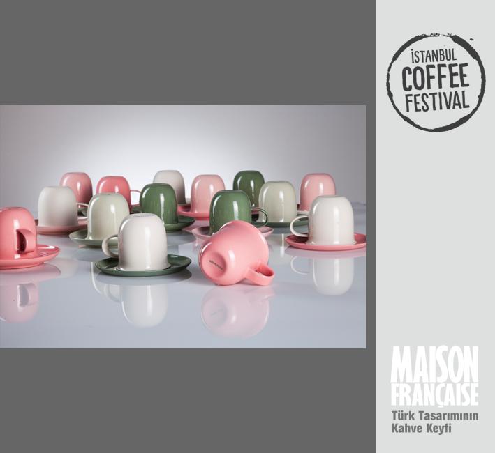 ISTANBUL COFFEE FESTIVAL/ MAISON FRANÇAISE TÜRK TASARIMININ KAHVE KEYFİ SERGİSİ: MANA YILDIZ
