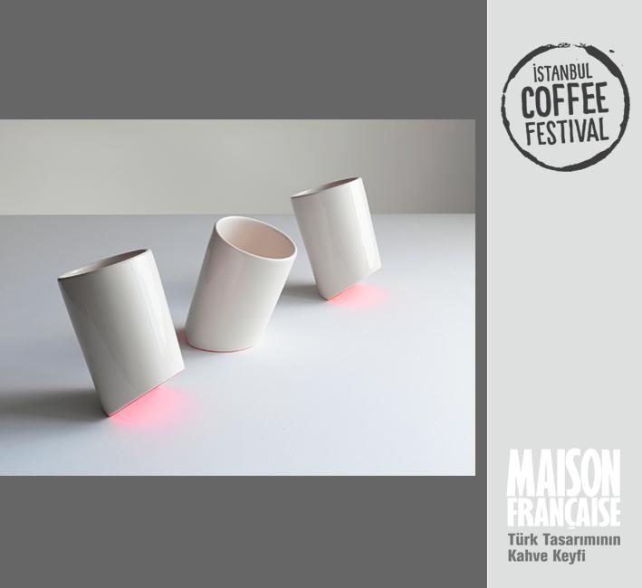 ISTANBUL COFFEE FESTIVAL/ MAISON FRANÇAISE TÜRK TASARIMININ KAHVE KEYFİ SERGİSİ: BİLGE NUR SALTIK