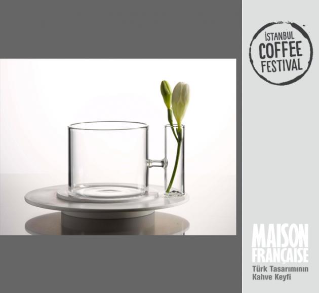 ISTANBUL COFFEE FESTIVAL/ MAISON FRANÇAISE TÜRK TASARIMININ KAHVE KEYFİ SERGİSİ: OYA AKMAN