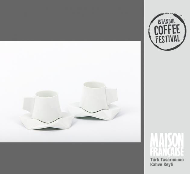 ISTANBUL COFFEE FESTIVAL/ MAISON FRANÇAISE TÜRK TASARIMININ KAHVE KEYFİ SERGİSİ: SELEN COLLANGE- BENJAMIN COLLANGE