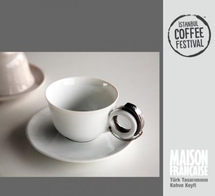 ISTANBUL COFFEE FESTIVAL/ MAISON FRANÇAISE TÜRK TASARIMININ KAHVE KEYFİ SERGİSİ: SEZA YEĞİN
