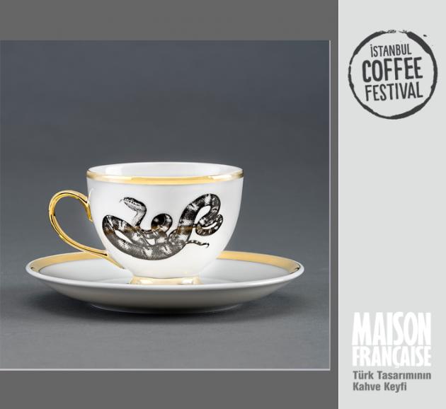 ISTANBUL COFFEE FESTIVAL/ MAISON FRANÇAISE TÜRK TASARIMININ KAHVE KEYFİ SERGİSİ: TANER CEYLAN