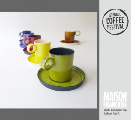 ISTANBUL COFFEE FESTIVAL/ MAISON FRANÇAISE TÜRK TASARIMININ KAHVE KEYFİ SERGİSİ: TULYA MADRA