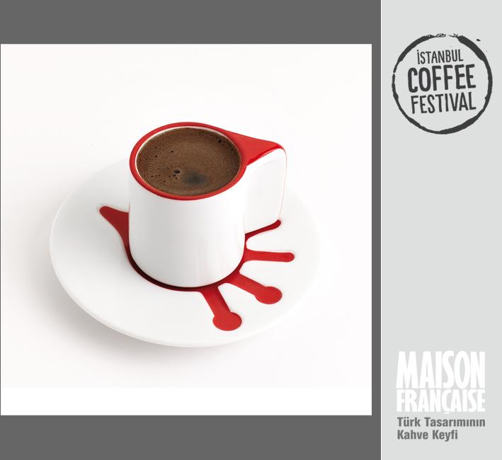 ISTANBUL COFFEE FESTIVAL/ MAISON FRANÇAISE TÜRK TASARIMININ KAHVE KEYFİ SERGİSİ: YASEMİN SİNEM KÖSELECİOĞLU & BURAK AKBIYIK