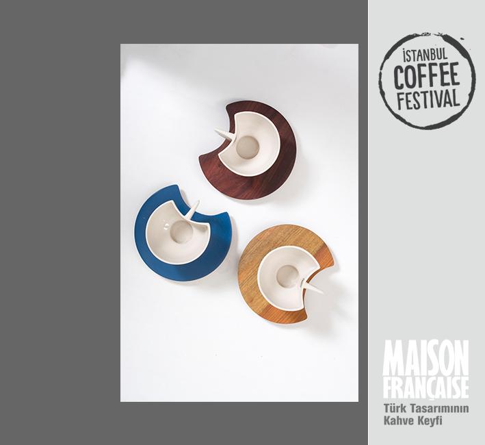 ISTANBUL COFFEE FESTIVAL/ MAISON FRANÇAISE TÜRK TASARIMININ KAHVE KEYFİ SERGİSİ: YONCA AKÇAY