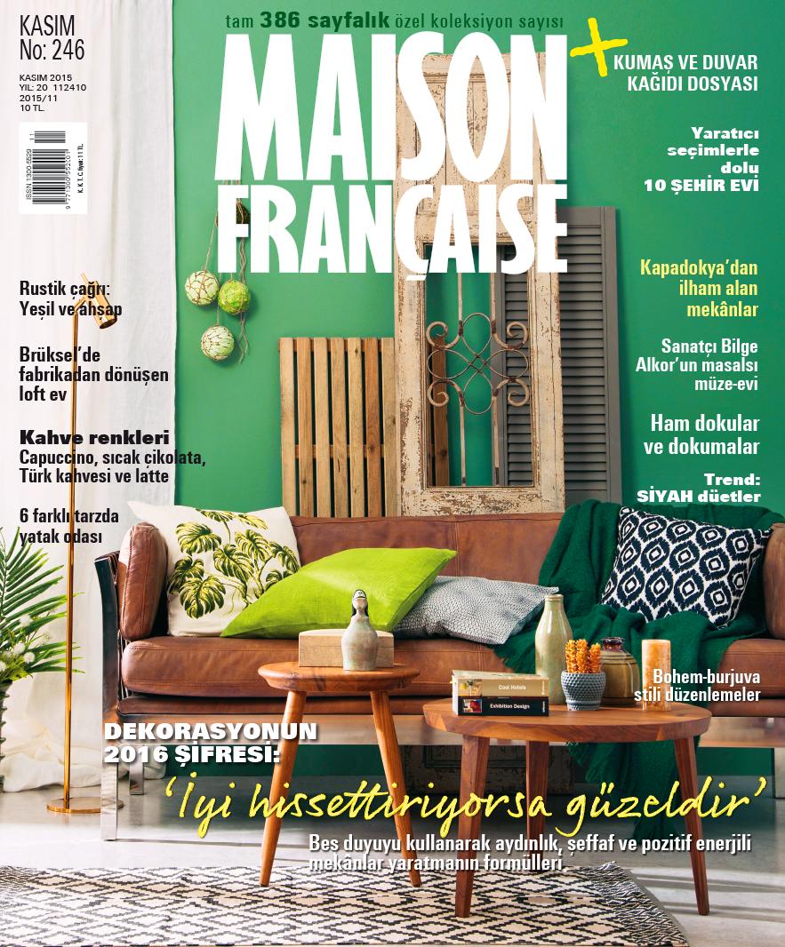 Maison Française Kasım Özel Koleksiyon Sayısı ÇIKTI!