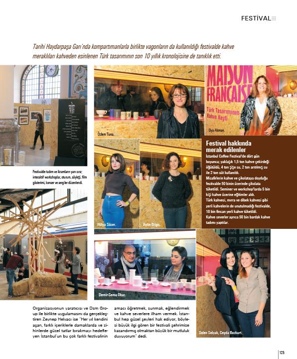 22-25 Ekim'de Haydarpaşa Garın'da Kahve Festivali'ndeydik!
