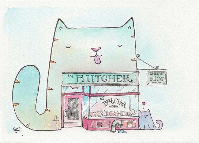 butcherscat