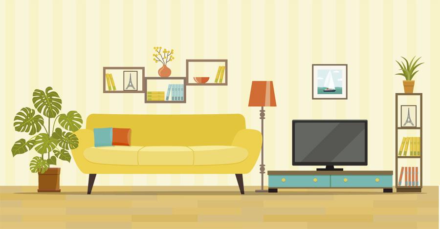 Ev dekorasyonlarının değişmeyen 3'lüsü