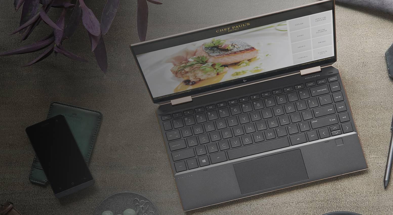 Şık, hafif ama çok güçlü: HP Spectre x360 13