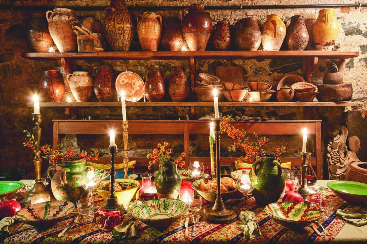 Eklektik zenginliğin festival masaları
